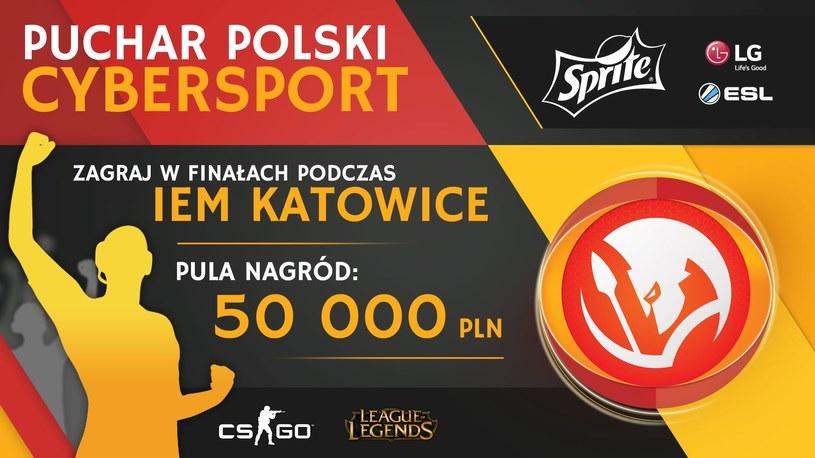 Puchar Polski Cybersport /materiały prasowe