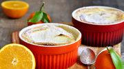 Pudding z sokiem pomarańczowym