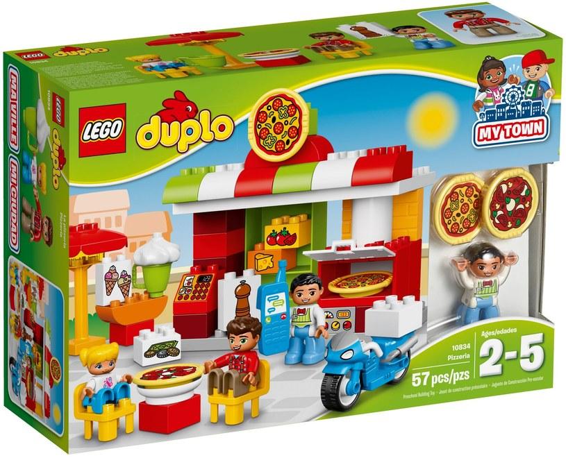 Pudełko LEGO DUPLO 10834 Pizzeria /materiały prasowe