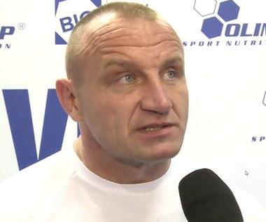Pudzianowski: Wielu zawodnikom mogą się ugiąć nogi. Wideo