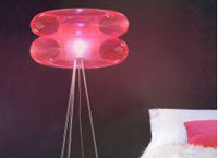 Puff-Buff Design (Anna Siedlecka, Radek Achramowicz), Big Pink, lampa podłogowa /Sztuka.pl