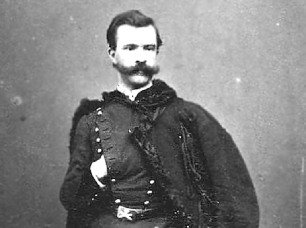 Pułkownik Marian Langiewicz /Wikimedia Commons /