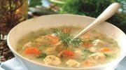 Pulpety w zupie koperkowej