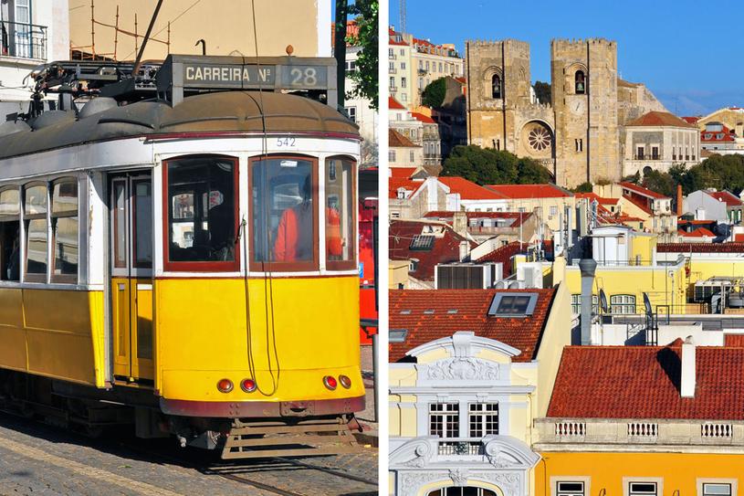 Punkty orientacyjne w Lizbonie /Picsel /123RF/PICSEL