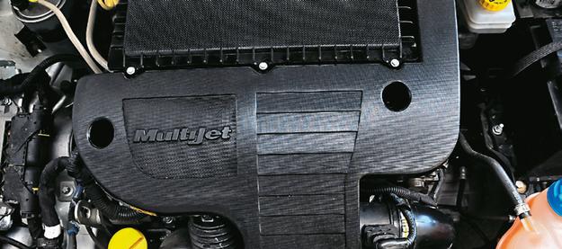 PUNTO: 1.3 Multijet to popularny diesel. Małe spalanie jest jego jedyną zaletą. /Motor
