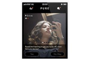 Pure - aplikacja typu Sex on Demand