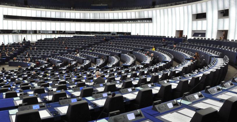 Pustki w ławach europoselskich /GEORGES GOBET /AFP