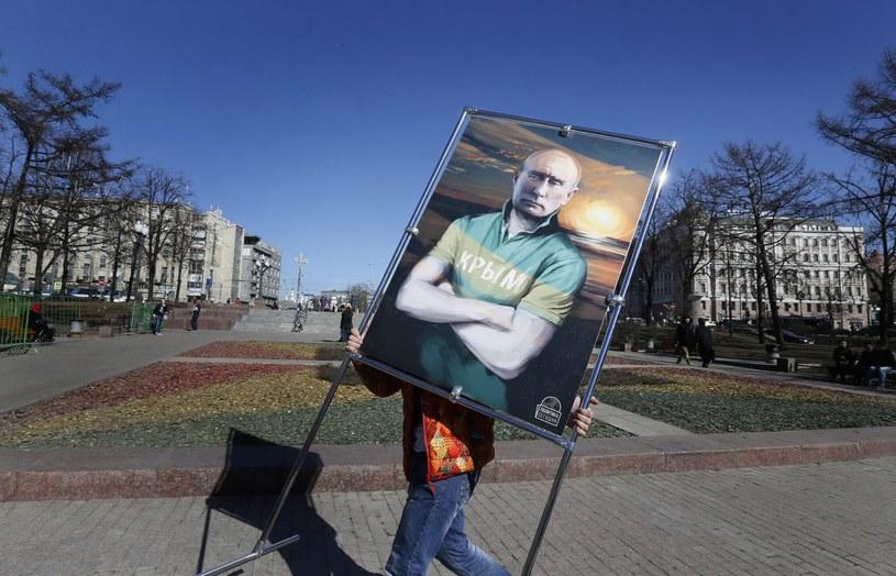 Putin oskarża Polskę o szkolenie grup bojowych ukraińskich nacjonalistów. /PAP/EPA