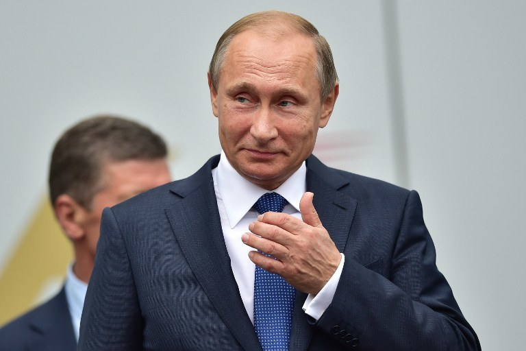 Putin powiedział, że Rosja jest bliska wymiany  z Zachodem informacji o pozycjach islamistów /AFP