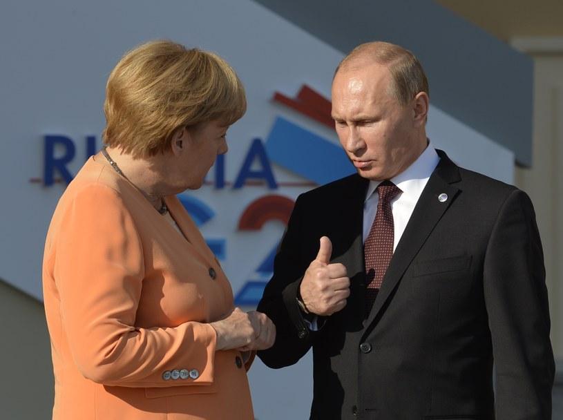 Putin rozmawiał z Merkel o Ukrainie i Naddniestrzu /AFP