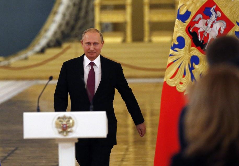 Putin traci zaufanie do swoich kadr, a nawet niektórych bliskich sojuszników /YURY KOCHETKOV /PAP/EPA
