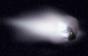 Pył kometarny odnaleziony w lodach Antarktydy