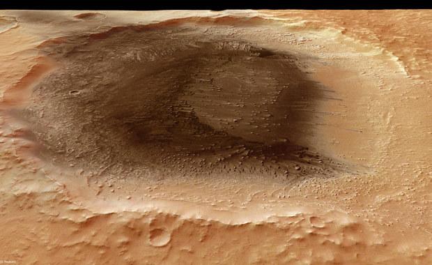 Pył wulkaniczny na Marsie