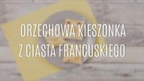 Pyszna orzechowa kieszonka z ciasta francuskiego – przepis