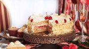Pyszny i łatwy tort śmietankowo - owocowy