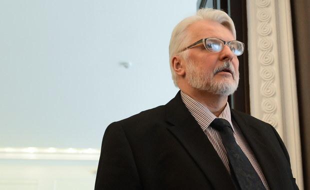 Pytania do ministra Waszczykowskiego w związku z zaproszeniem Ukraińców do Polski