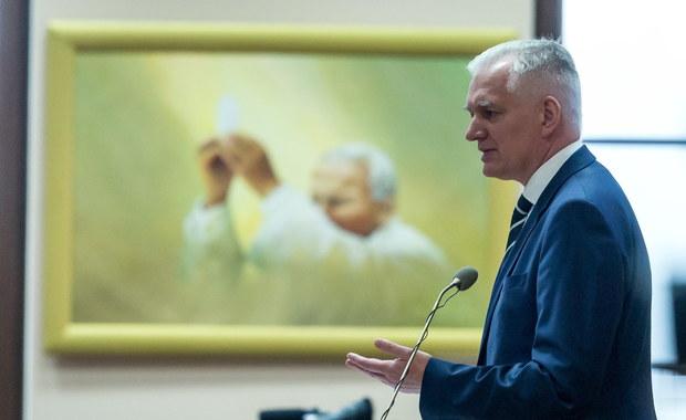 Pytanie do ministra Gowina w sprawie skompromitowanego polityka z Ukrainy