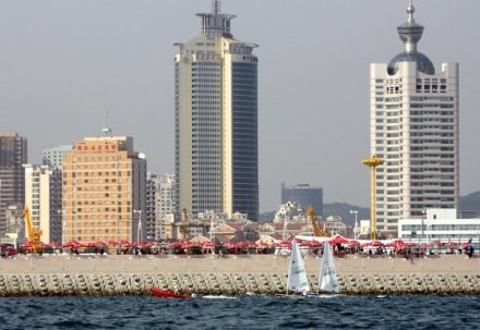 Qingdao Olympic Sailing Center /AFP