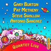 Patrick Bruce Metheny: -Quartet Live