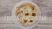 Quiche z suszonymi pomidorami – szybki przepis