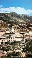 Quito, Ekwador, pałac rządowy /Encyklopedia Internautica