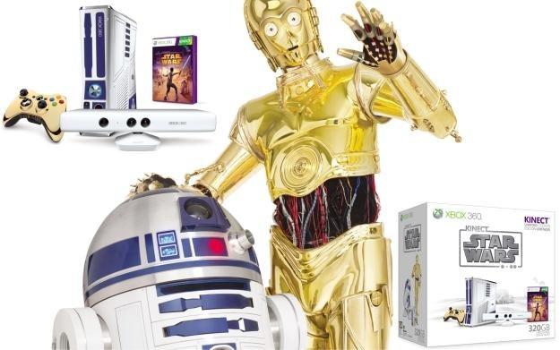 R2D2 i C3PO polecają konsolę Microsoftu i technologię Kinect /Informacja prasowa