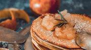Racuszki piwne z jabłkami
