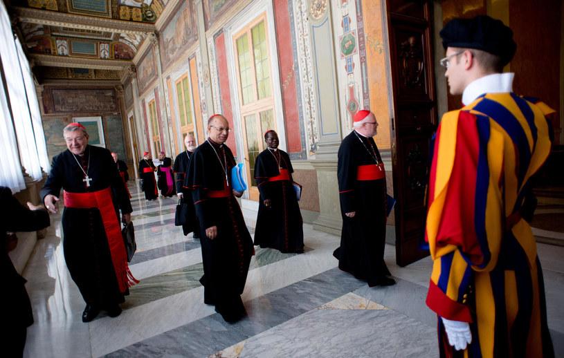 Rada Kardynałów przed naradą /AFP