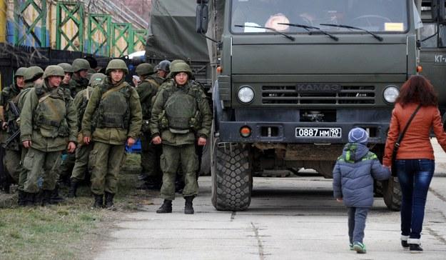 Rada zaapelowała o zażegnanie kryzysu na Ukrainie /AFP