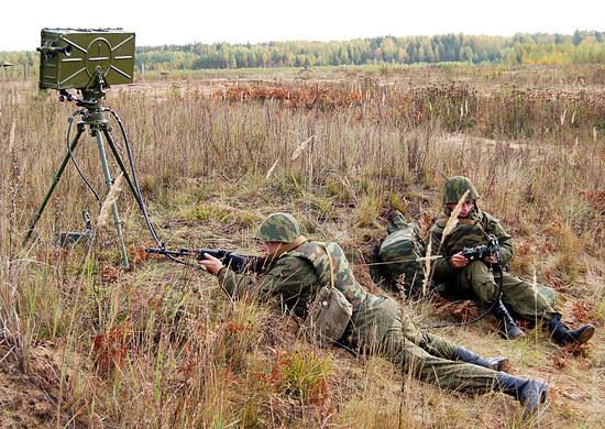 Radar Fara-WR pozwala nie tylko na wykrywanie celów, ale również na kierowanie ogniem karabinów maszynowych i granatników automatycznych. Fot. mil.ru /materiały prasowe
