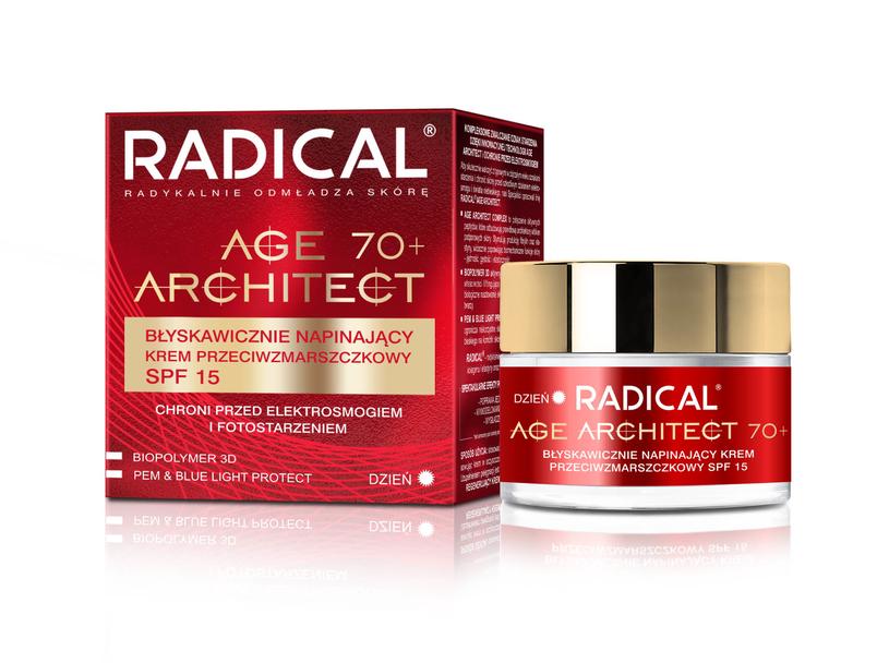 RADICAL AGE ARCHITECT, to innowacyjne kosmetyki ze składnikami aktywnymi o działaniu odmładzającym /INTERIA/materiały prasowe