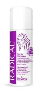 Radical, Suchy szampon do włosów tłustych, pozbawionych objętości