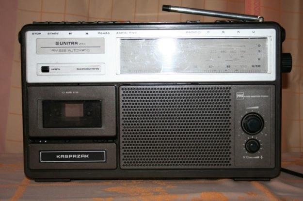 Radiomagnetofon Kasprzak /Gadżetomania.pl