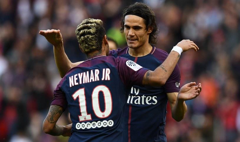 Radość Neymara i Edinsona Cavaniego /AFP