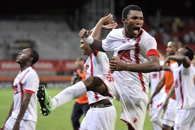 Radość piłkarzy Sion okazała się przedwczesna /AFP