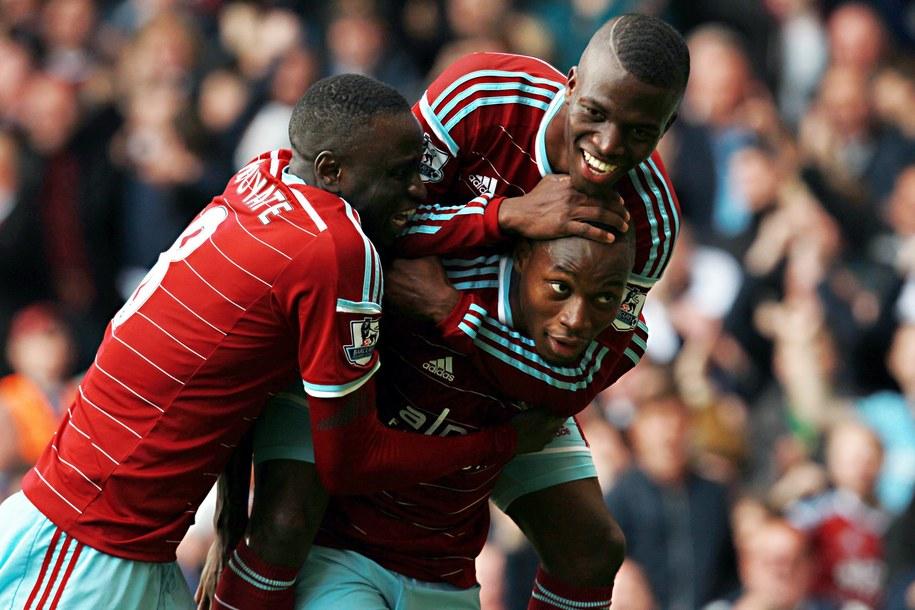 Radość piłkarzy West Ham /SEAN DEMPSEY /PAP/EPA