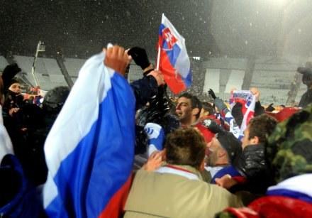 Radość w słowackim obozie była ogromna /AFP