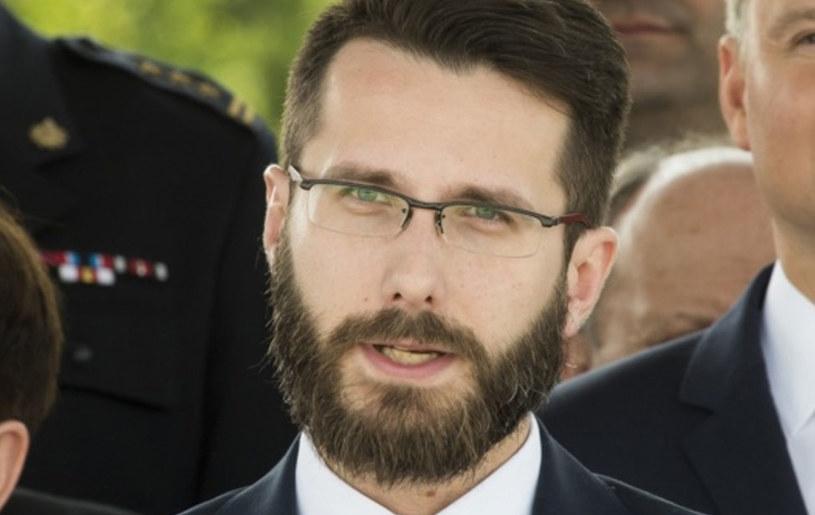 Radosław Fogiel między innymi doradza Jarosławowi Kaczyńskiemu /Jacek Domiński /Reporter
