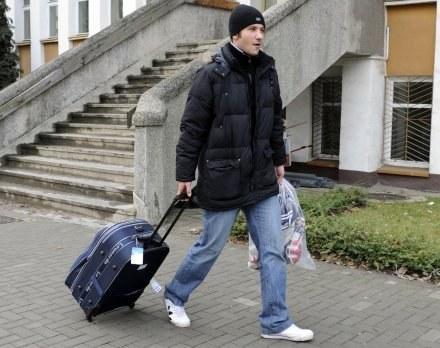 Radosław Janukiewicz nie zagra w Bełchatowie. /Agencja Przegląd Sportowy