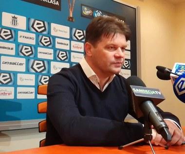 Radosław Mroczkowski po meczu Sandecja - Jagiellonia Białystok 0-1
