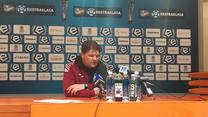 Radosław Mroczkowski po meczu z Cracovią 1-1 (wideo)