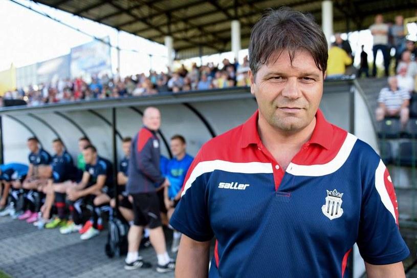 Radosław Mroczkowski, trener Sandecji Nowy Sącz /Michał Stańczyk /Newspix