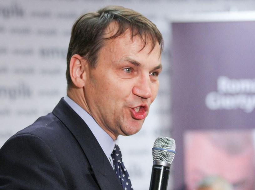 Radosław Sikorski: Jeżeli będziemy odpowiadać jak u cioci na imieninach językiem Unii Wolności, to skończymy jak Unia Wolności /Robert Ostrowski /East News