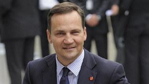 Radosław Sikorski - minister spraw zagranicznych /AFP