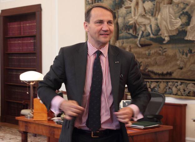 Radosław Sikorski odchodzi z Sejmu  Fot. STANISŁAW KOWALCZUK /East News
