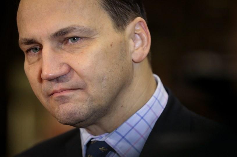 Radosław Sikorski /JULIEN WARNAND /PAP/EPA
