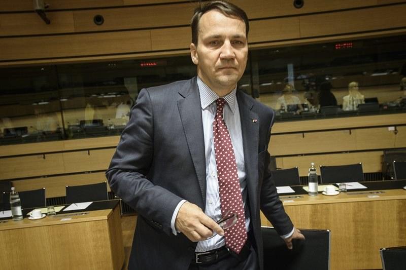 Radosław Sikorski /Wiktor Dabkowski    /PAP