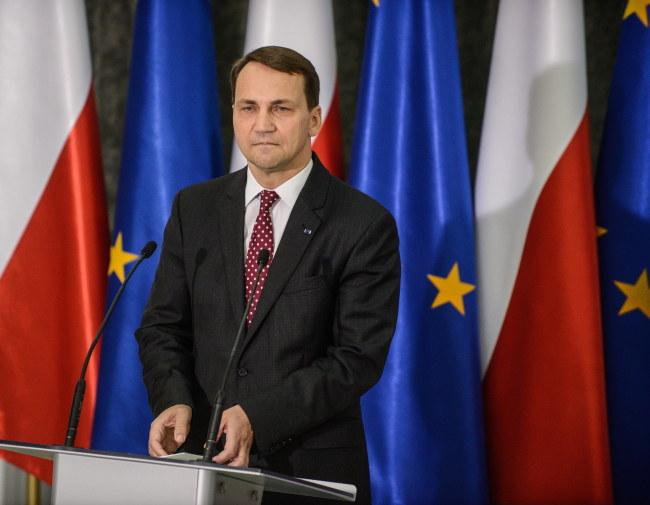 Radosław Sikorski /Jakub Kamiński   /PAP