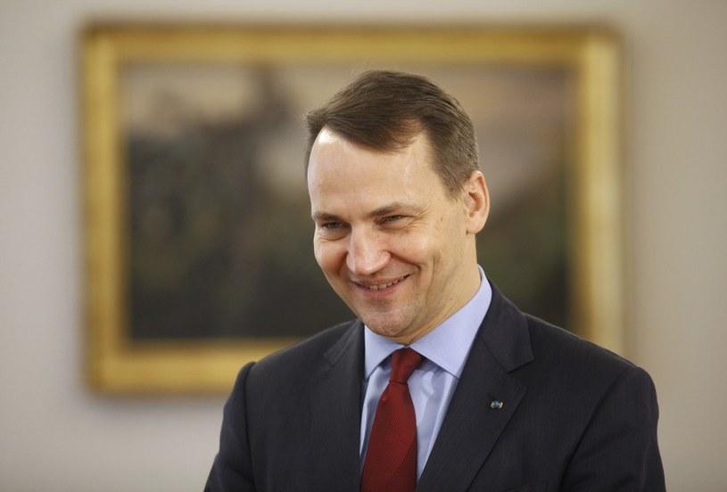 Radosław Sikorski /Stefan Maszewski /Reporter