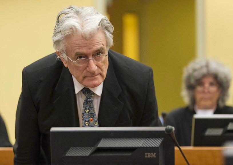 Radovan Karadżić został skazany na 40 lat więzienia /PAP/EPA